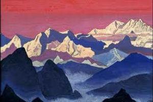 Н.К. Рерих  Горы Тибета