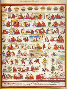 Атлас тибетской медицины. Лист 35