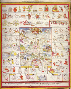 Атлас тибетской медицины. Лист 17