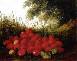 Paul Lacroix. Strawberry in a Landscape