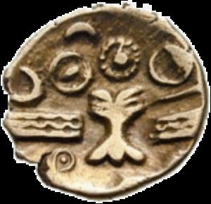 Монета древних кельтов