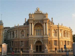 Одесса. Здание оперного театра