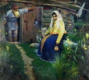 М.В.Нестеров. За приворотным зельем