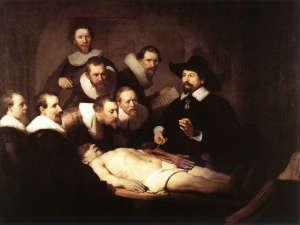 Рембрандт. Урок анатомии доктора Тюльпа
